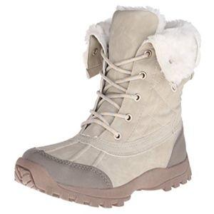 Report Women's Beric Winter Boots Beige Size 6.5